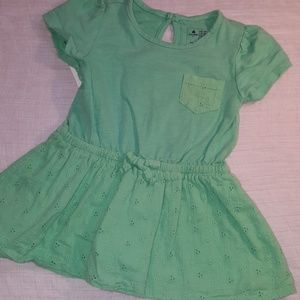 BabyGap green/teal dress